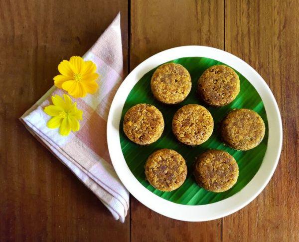Indori - A traditional Konkani dessert.