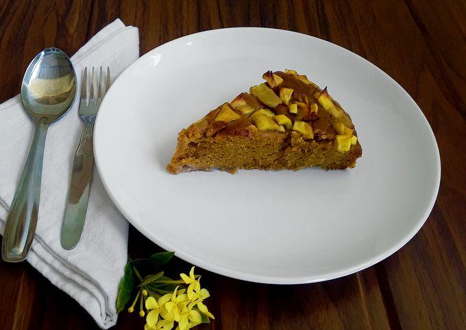 Vegan Jackfruit Cake