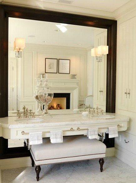 Custom Built Mirror for Bathroom In Fairfax Northern VA