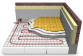 Model of Heated Bathroom Flooring