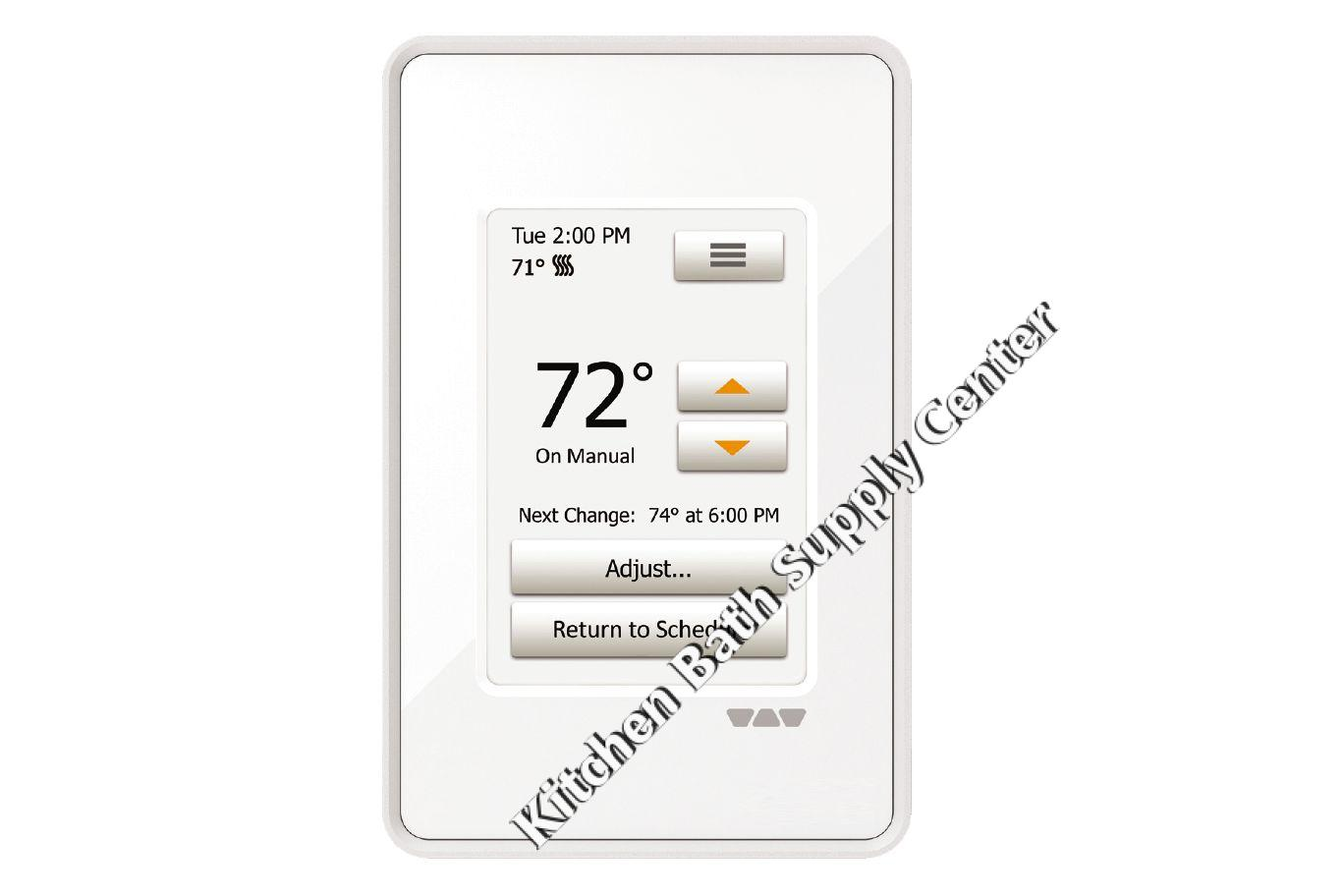 Schluter Ditra Heat E Rt Touchscreen Programmable Thermostat