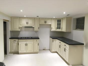 Basement kitchen remodelling 2