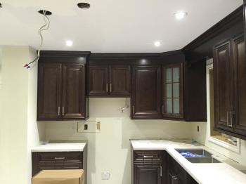 Kitchen Remodelling Lighting Installation