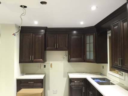 Kitchen Remodelling Lighting Installation