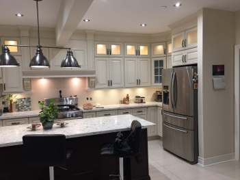Kitchen Showroom Side View
