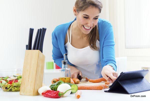 Technology in kitchen