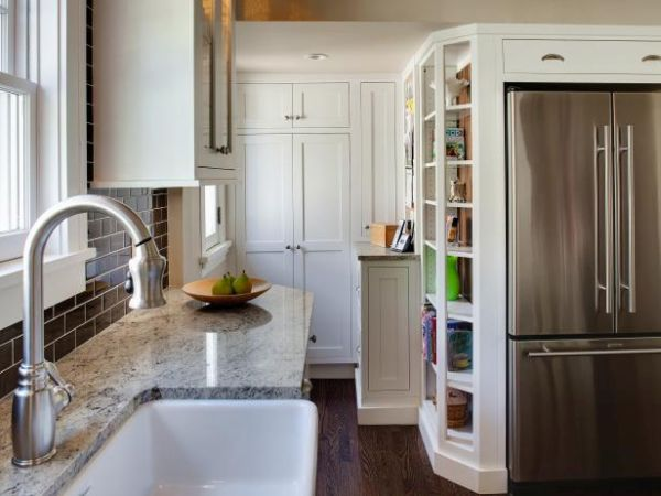 kitchen interiors in a small space (1)