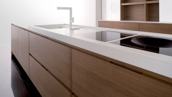kitchen countertop organized (2)