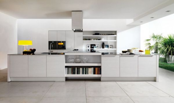 path of a modern kitchen (8)
