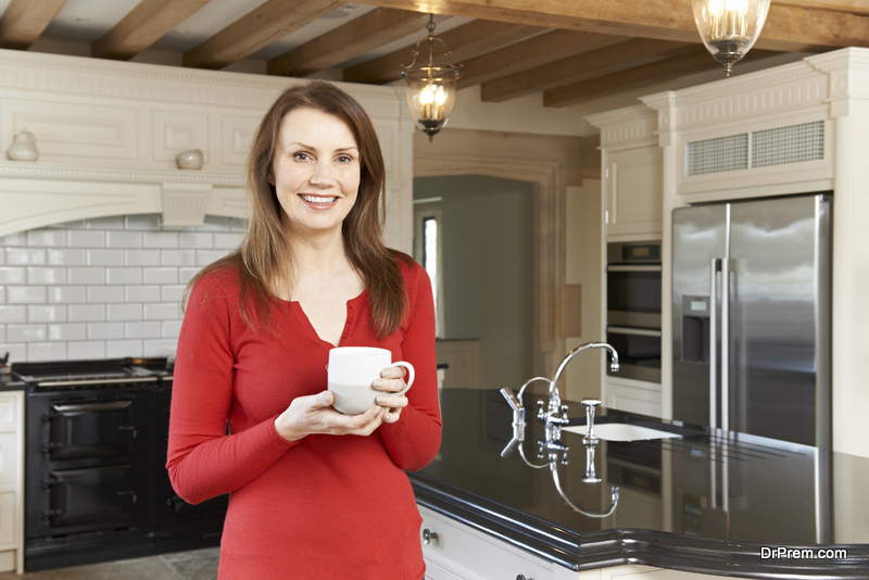 Mobile home kitchen renovation