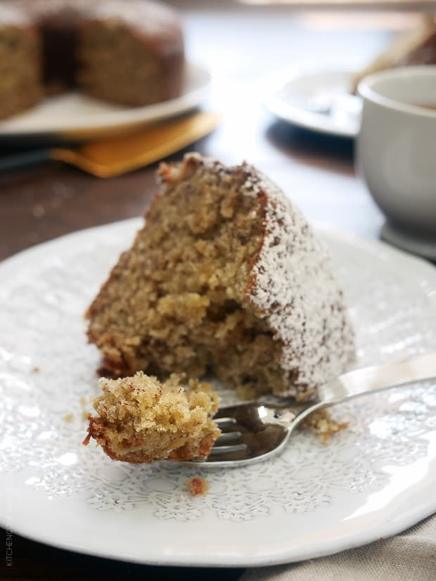 Banana Pineapple Cake | www.kitchenconfidante.com | Have a slice of home with this old favorite.