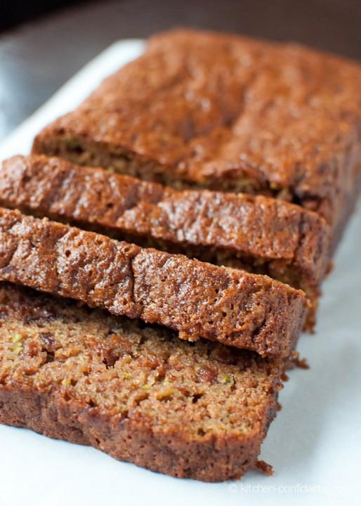 Zucchini Bread | www.kitchenconfidante.com