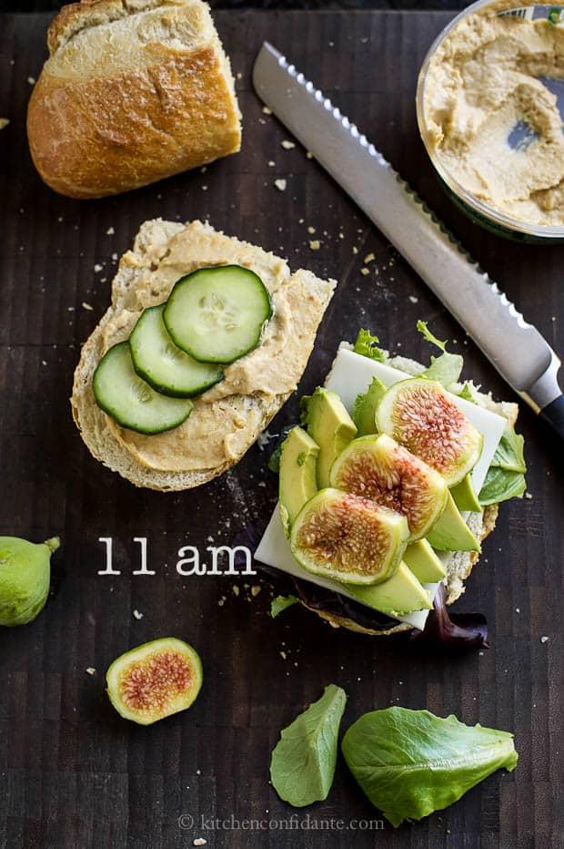 Baked Caramel Corn | Kitchen Confidante | My Day in Photos | 11am | Veggie Fig Sandwich