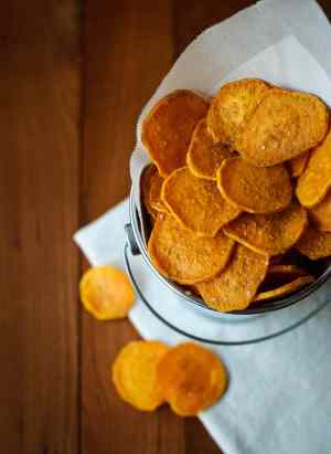 Sweet Potato Chips | Kitchen Confidante | Kamote Chips
