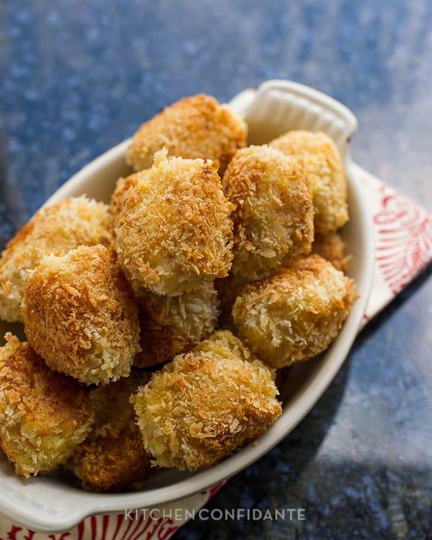 Shrimp and Potato Croquettes | Kitchen Confidante | Croquettes