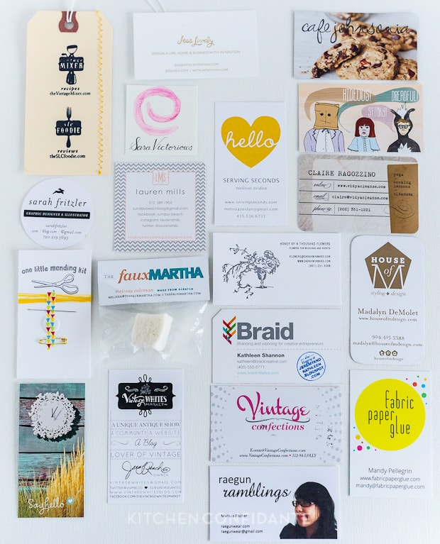 ALT Summit | Kitchen Confidante | Business Cards
