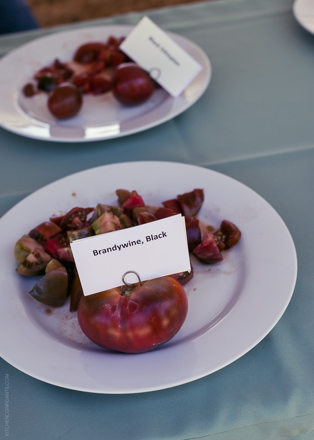 2013 Kendall-Jackson Heirloom Tomato Festival | www.kitchenconfidante.com | Brandywine Tomato