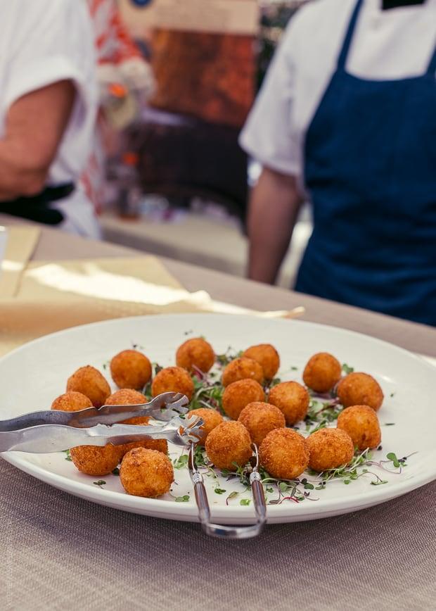 2013 Kendall-Jackson Heirloom Tomato Festival | www.kitchenconfidante.com | Arrancini