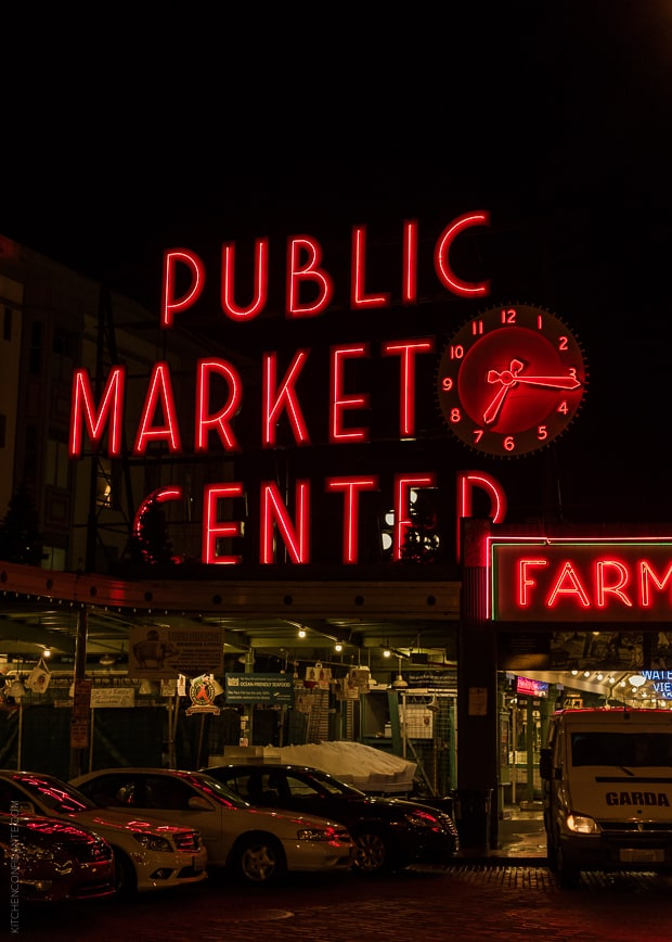 Scenes from Seattle   www.kitchenconfidante.com   Pikes Place Market