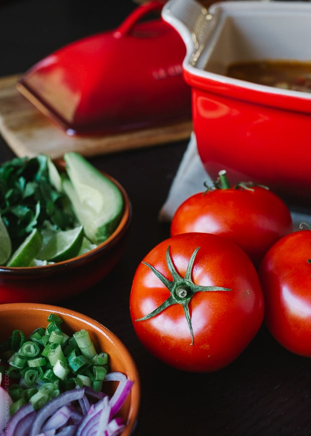 Fire Roasted Chipotle Posole | www.kitchenconfidante.com