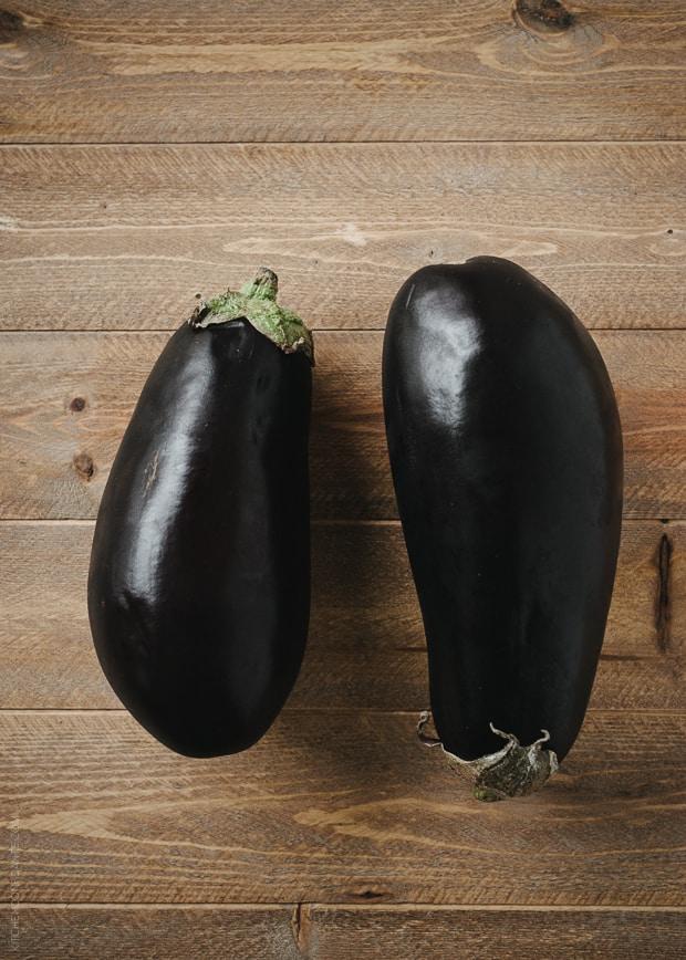 Quinoa Crusted Eggplant Parmigiana | www.kitchenconfidante.com