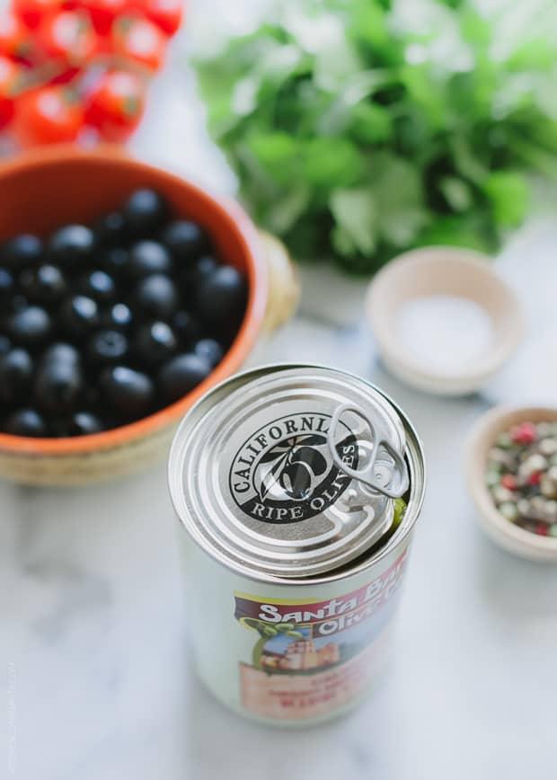 Olive Tomato Salsa | www.kitchenconfidante.com