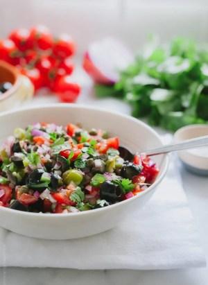 Olive Tomato Salsa   www.kitchenconfidante.com