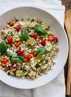 Summer Corn and Barley Salad   www.kitchenconfidante.com