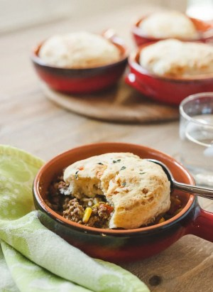 Buttermilk-Gruyere Biscuit Topped Shepherd's Pie   www.kitchenconfidante.com   Simple, comforting, and so easy to make!