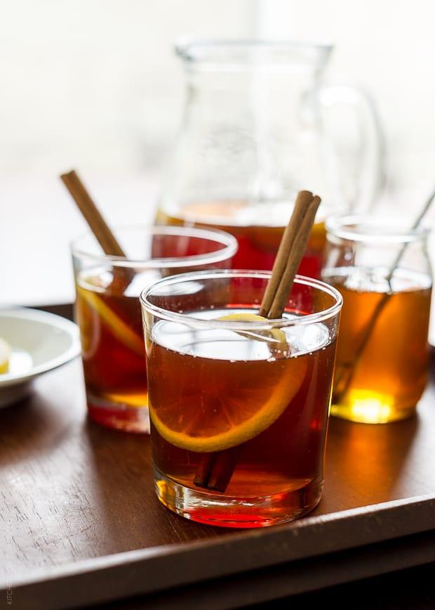 Chai Hot Toddy | www.kitchenconfidante.com | Cozy in a glass.
