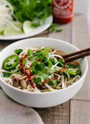 Prime Rib Pho   www.kitchenconfidante.com   Save those prime rib roast bones and make a Vietnamese style noodle soup!