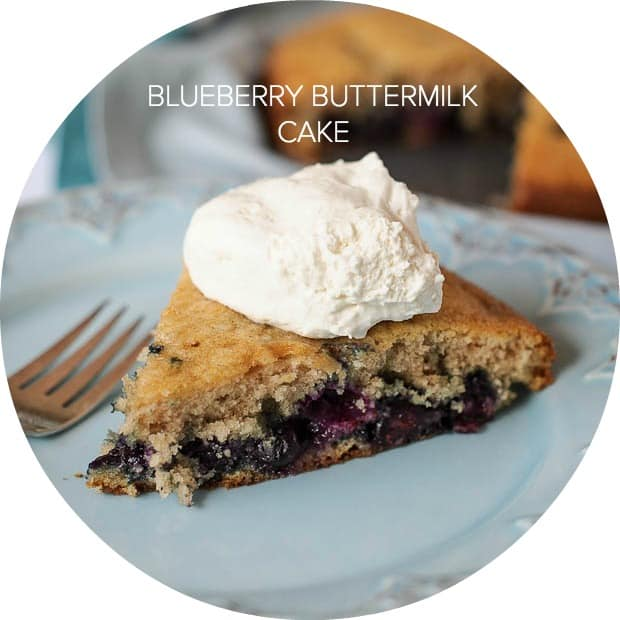 Blueberry Buttermilk Cake| www.kitchenconfidante.com