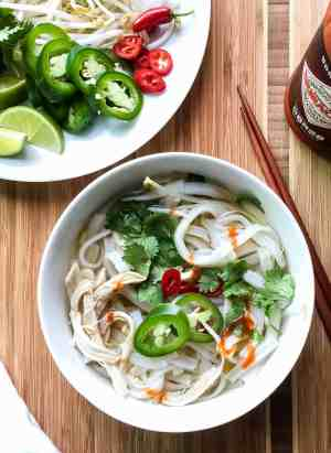 Faux Pho   www.kitchenconfidante.com   Don't have hours to simmer broth? Now you can have pho in half an hour!