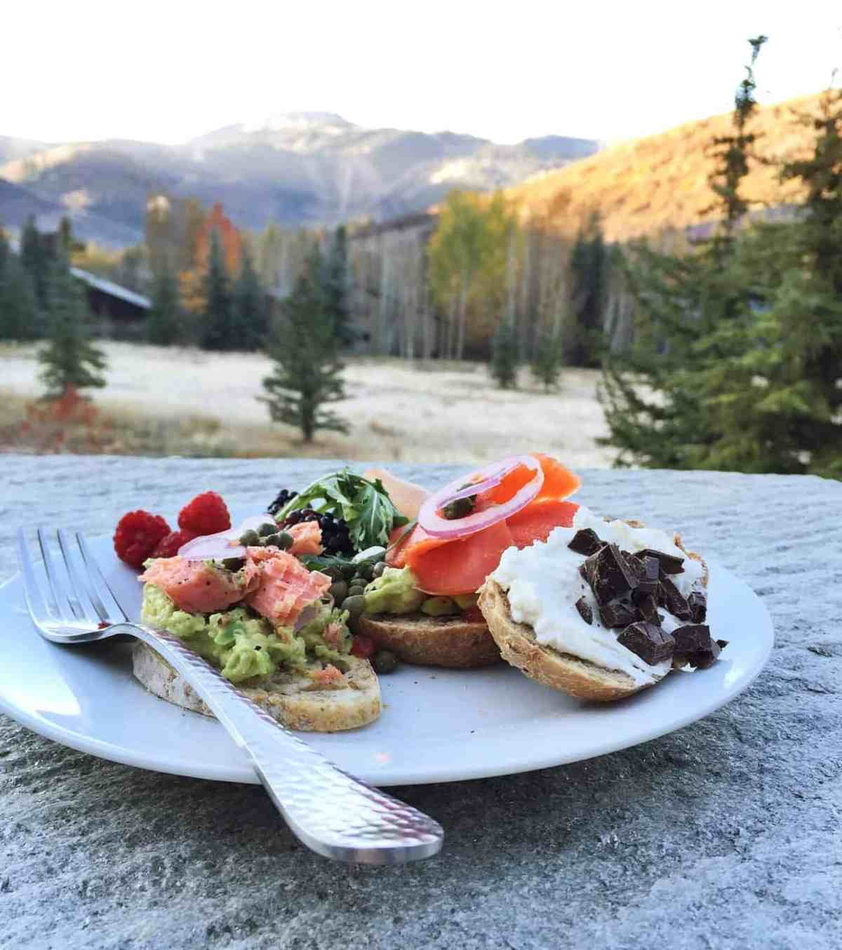 Breakfast with a View of Deer Valley at the Better Blog Retreat 2015 | www.kitchenconfidante.com