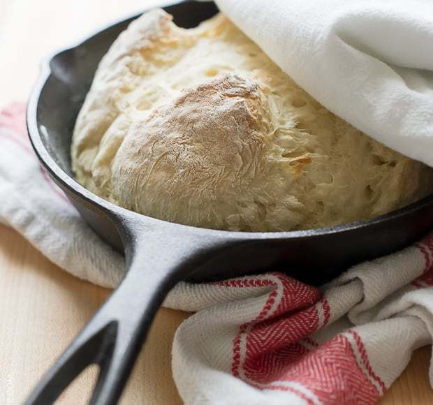Skillet Soda Bread | www.kitchenconfidante.com | A simple recipe for soda bread that bakes so quickly, you can satisfy your bread cravings faster.
