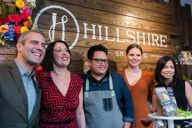 Hillshire Snacking Launch Party.