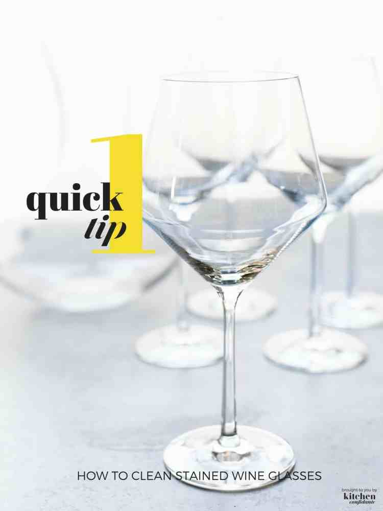 Clean wine glasses on a light background.