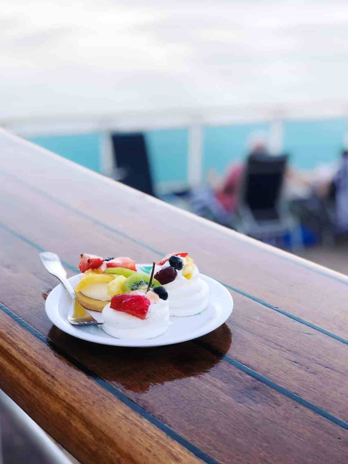 Indulge in the dessert bar on the Ruby Princess.