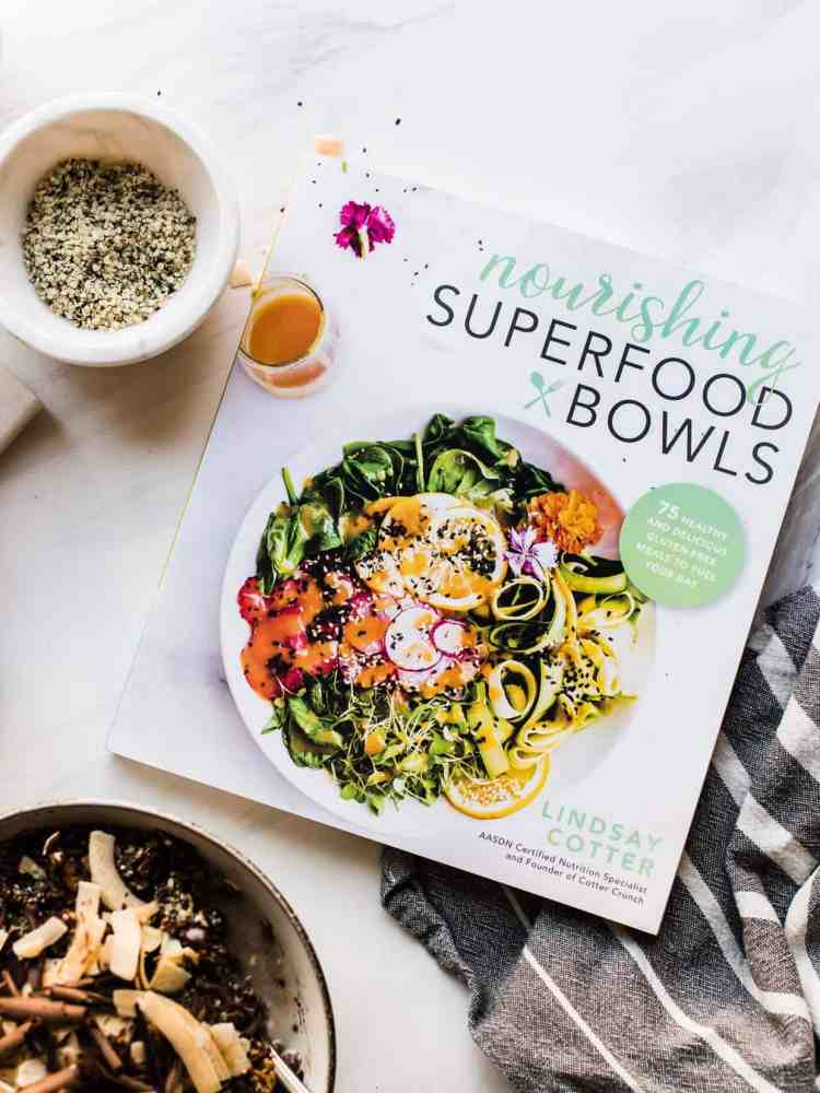 Nourishing Superfood Bowls by Lindsay Cotter.