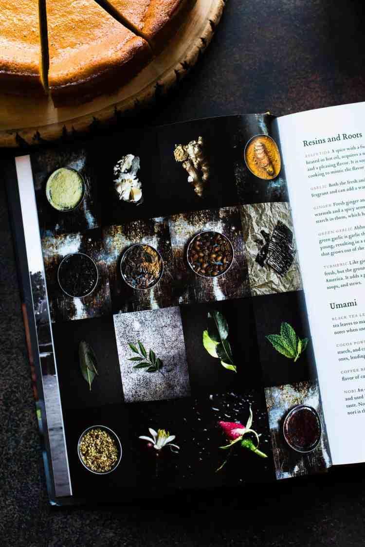 A peak inside Season: Big Flavors, Beautiful Food by Nik Sharma.