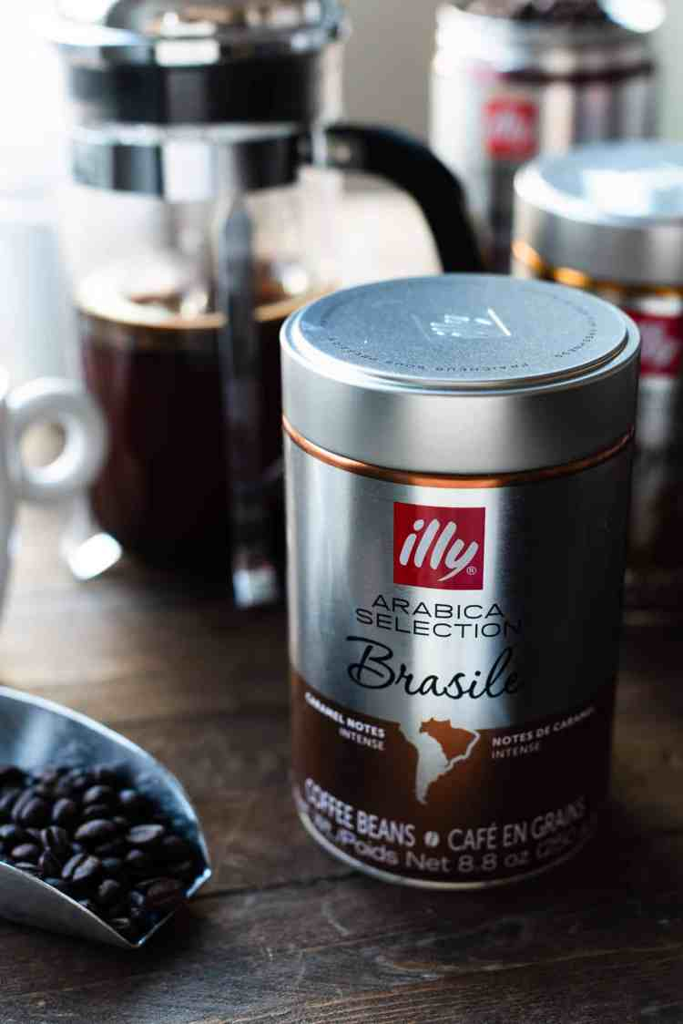 illy Arabica Selection Brasile Coffee.