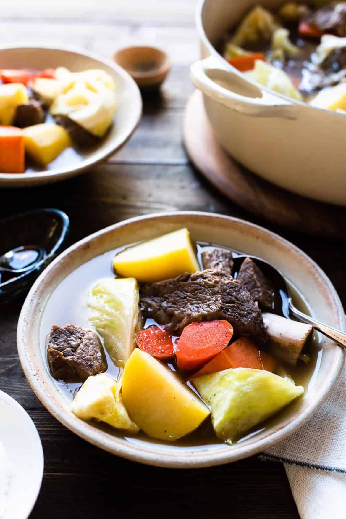 Instant Pot Beef Nilaga (Filipino Beef and Vegetable Soup ...