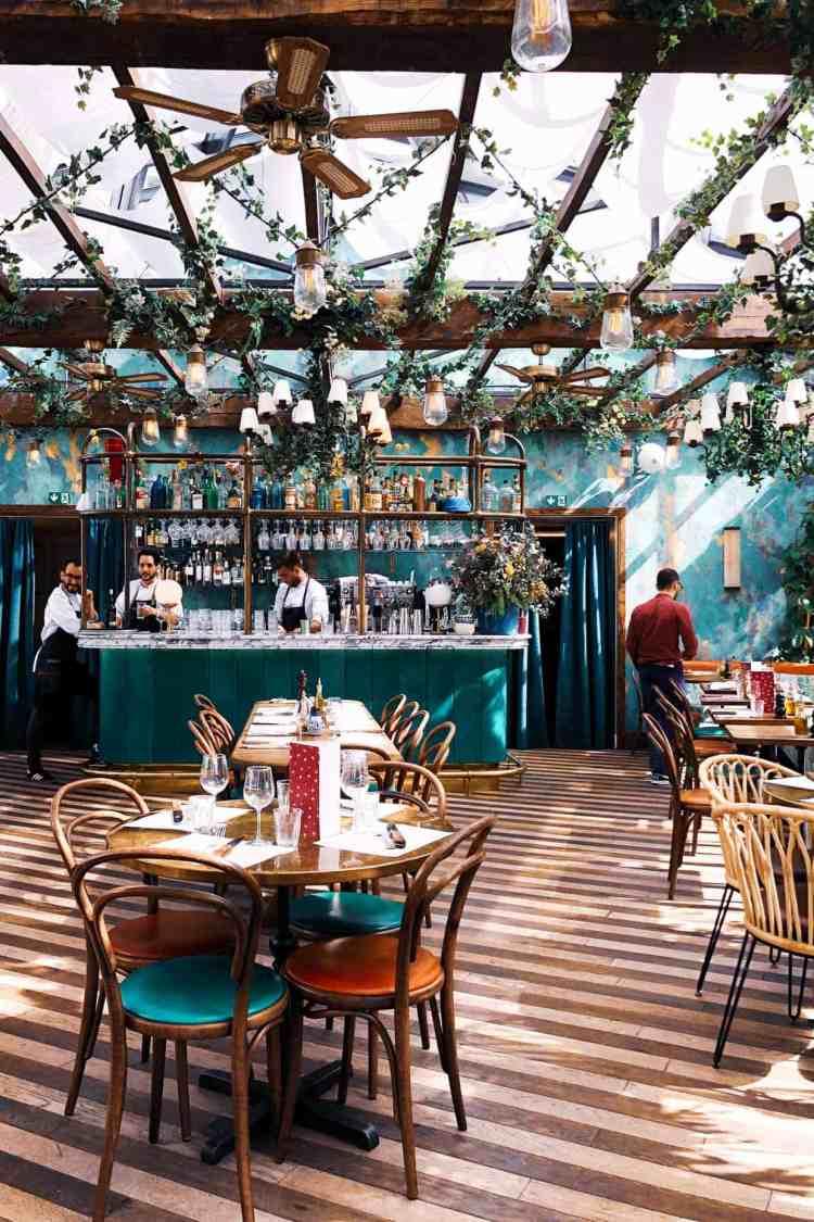 Pink Mamma restaurant in Paris, France