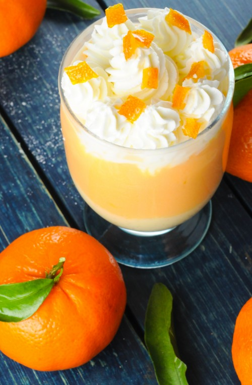 Creamsicle Pudding Recipe