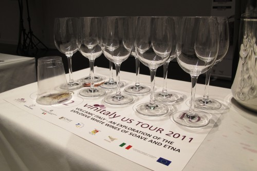 VinItaly U.S. Tour 2011- A Lesson in the Volcanic Wine Regions of Italy
