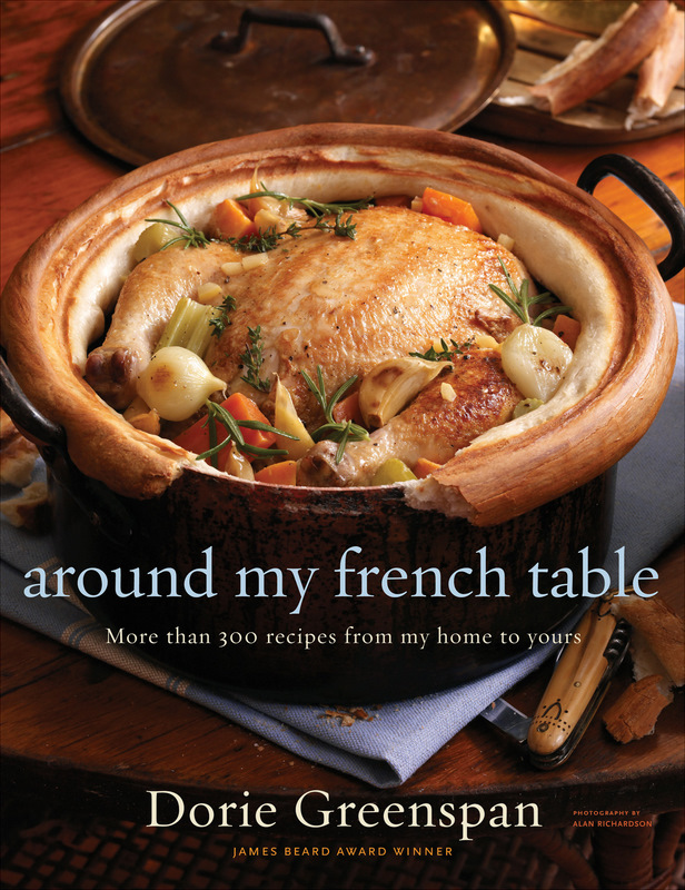 Dorie Greenspan's Cookbook 'Around My French Table' Arrived Today!