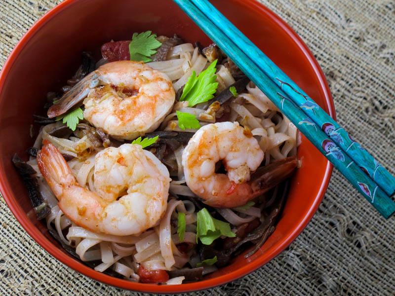 Shrimp with Cellophane Noodles-7716