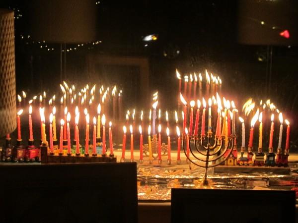 Happy Hanukkah! Happy Thanksgiving! Happy Thanksgivingakuh!