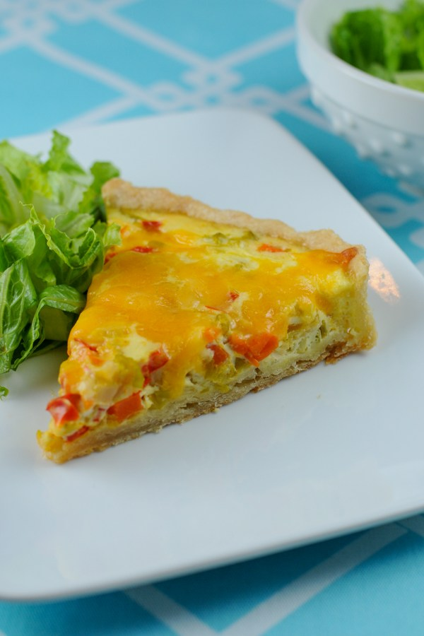 Quiche Maraîchère- French Fridays with Dorie