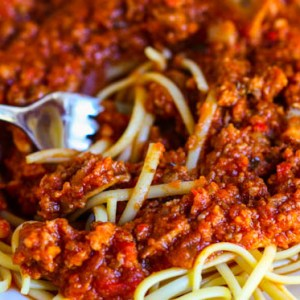 Spaghetti Sauce Is Rich, Hearty, and Absolutely Delicious.